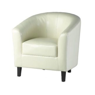 An Image of Tempo Tub Chair In Cream