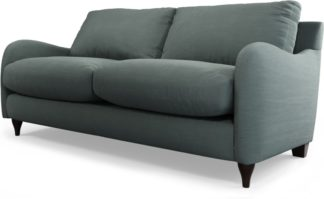 An Image of Custom MADE Sofia 2 Seater Sofa, Athena Dark Grey