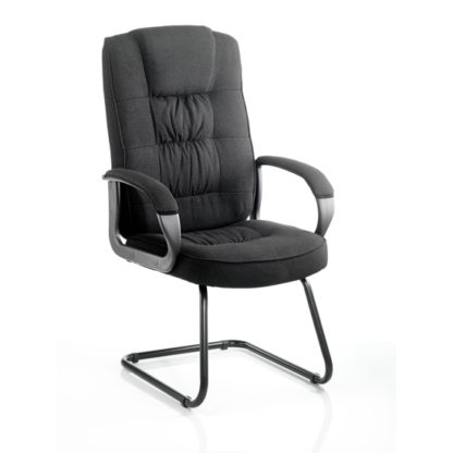 An Image of Moore Fabric Cantilever Office Chair