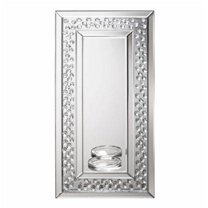 An Image of Alvaro Rectangular Sconce Wall Mirror