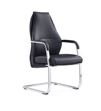 An Image of Penix Visited Chair In Black