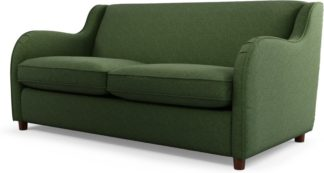 An Image of Custom MADE Helena Sofabed, Textured Weave Green