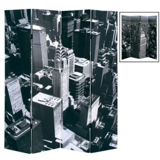 An Image of New York Skyline Room Divider