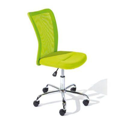 An Image of Bonnie Green Colour Children Office Chair