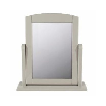 An Image of Brora Single Dressing Mirror With Grey Frame