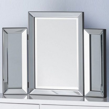 An Image of Zeus Modern Folding Dressing Table Mirror