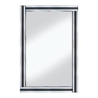 An Image of Black Stripe 120x80 Large Mirror