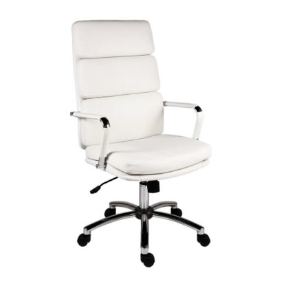 An Image of Deco Retro Eames Style Executive Office Chair In White