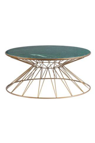 An Image of Mali Brass Coffee Table