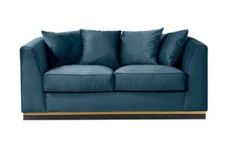An Image of Pino Two Seat Sofa - Peacock