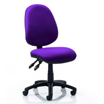 An Image of Luna II Office Chair In Tansy Purple
