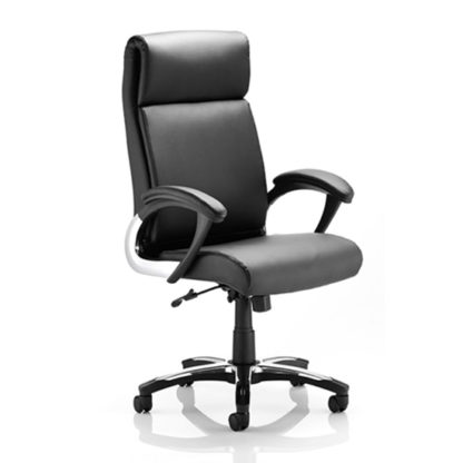 An Image of Romeo Black Office Chair