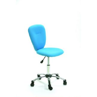 An Image of Pezzi Office Children's Swivel Chair in Blue