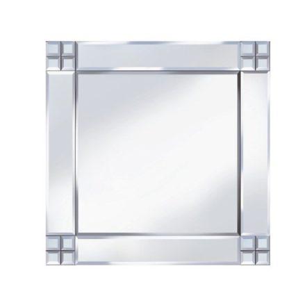 An Image of Multi-Square Design 60x60 Decorative Mirror