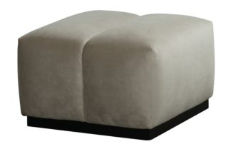 An Image of Herbie Footstool - Taupe