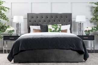 An Image of Lavinia Storage Bed Storm Grey