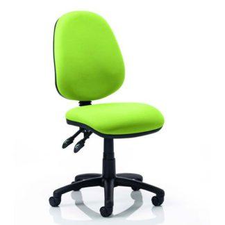 An Image of Luna II Office Chair In Myrrh Green