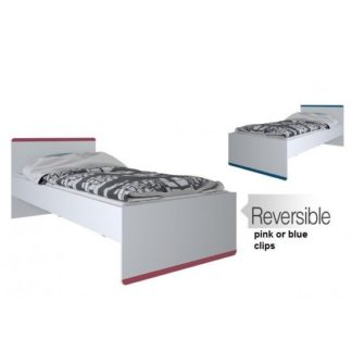 An Image of Delphi Wooden Children Bed In Pearl White