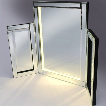 An Image of Venezuela Vanity Mirror With LED Lights