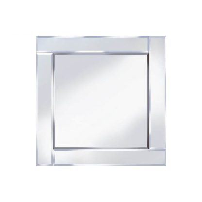An Image of Bevelled 60x60 Square Wall Mirror