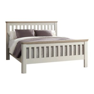 An Image of Empire Painted Wooden Super King Size Bed