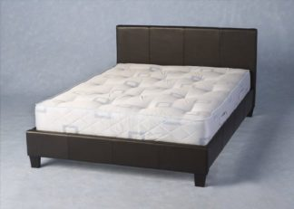 An Image of Prado 4ft 6 Expresso Brown Double Bed