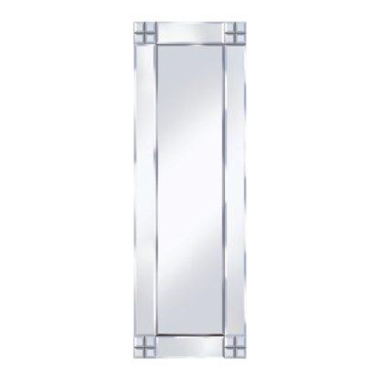 An Image of Multi Square Design 120x40 Decorative Mirror
