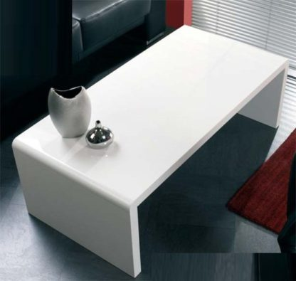 An Image of Contemporary Coffee Table In White High Gloss
