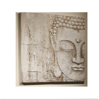 An Image of Peaceful Buddah Wall Art