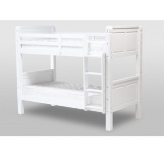 An Image of Corona White Bunk Bed