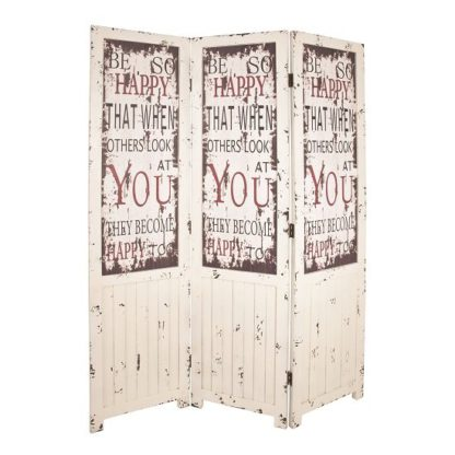 An Image of Optical Contemporary Room Divider In Vintage Look