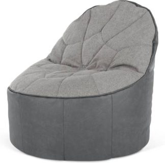 An Image of Neeve Bean Bag Chair, Grey