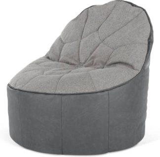 An Image of Neeve Bean Bag Chair, Grey