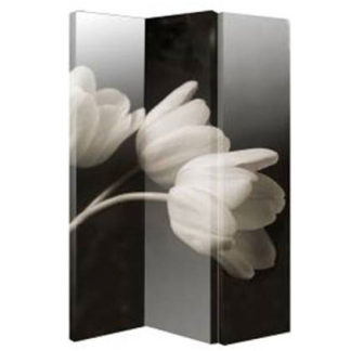 An Image of Flowers Art Room Divider