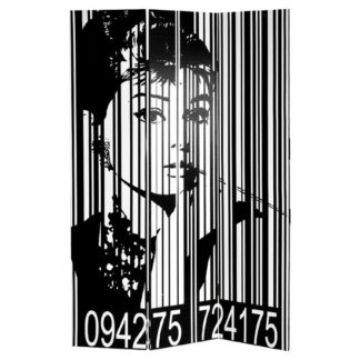 An Image of Audrey Hepburn Room Divider