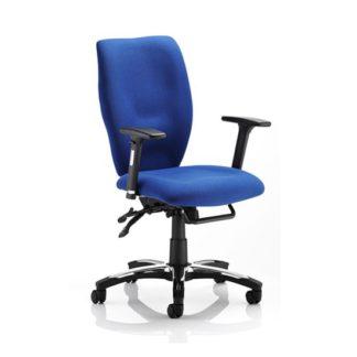 An Image of Sierra Blue office Chair
