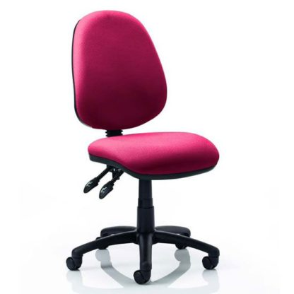 An Image of Luna II Office Chair In Ginseng Chilli