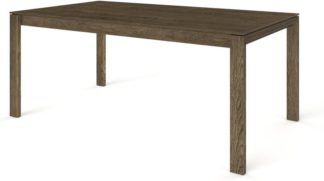 An Image of Custom MADE Corinna 8 Seat Dining Table, Smoked Oak