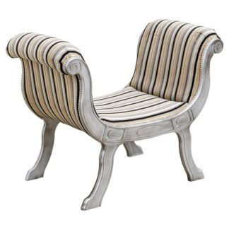 An Image of Cleopatra Occasional Lounge Chaise Chair With Wooden Legs