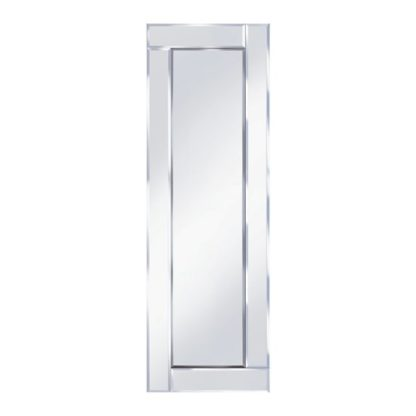 An Image of Bevelled 120x40 Narrow Wall Mirror