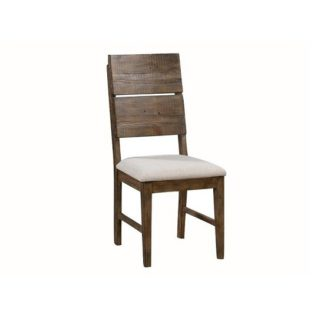 An Image of Sevilla Wooden Dining Chair In Dark Pine Finish