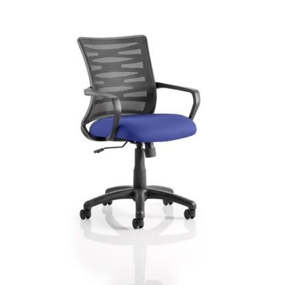 An Image of Eclipse Home Office Chair In Serene With Castors