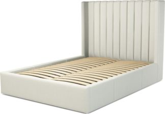 An Image of Custom MADE Cory King size Bed with Drawers, Putty Cotton