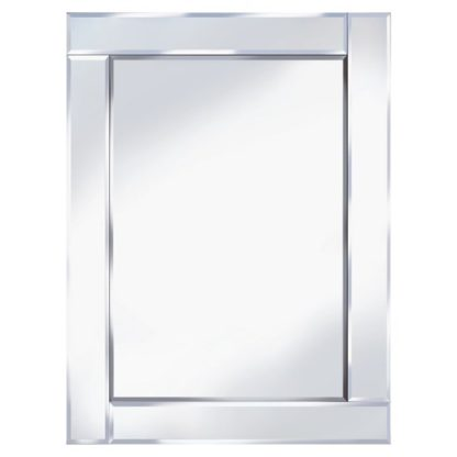 An Image of Bevelled 60x80 Rectangle Wall Mirror
