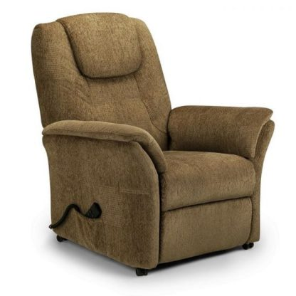 An Image of Brandon Fabric Recliner Chair In Cappuccino Chenille