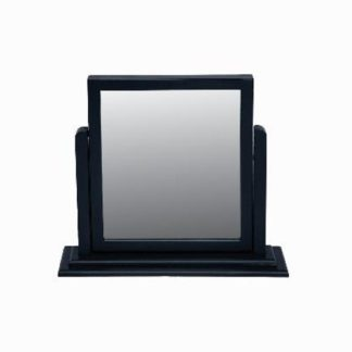 An Image of Ayr Dressing Mirror With Crabon Frame