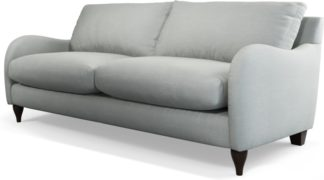 An Image of Custom MADE Sofia 3 Seater Sofa, Athena Dove Grey