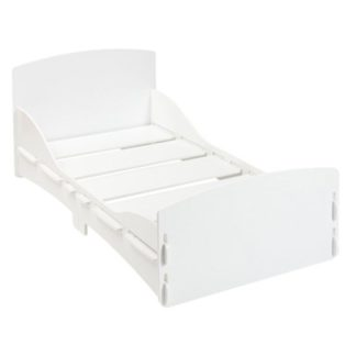 An Image of Junior Bed in White