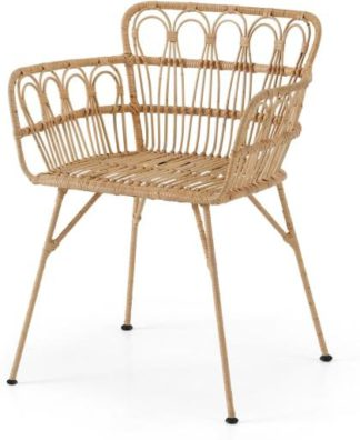 An Image of Jurupa Dining Chair, Natural Cane