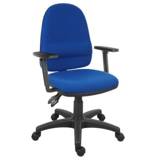 An Image of Dessau High Back Operator Chair With Twin Lever Mechanism